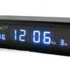 นาฬิกาปลุกดิจิตอล สีน้ำเงิน 780 บาท.-