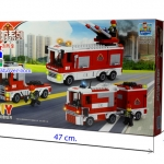 TS30113 Fire brigade รถฉีดน้ำดับเพลิง