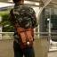 กระเป๋าซองปืนหนังแท้ สะพายไหล่ สามารถใส่ปืนพกสั้นได้ทุกชนิด สำหรับนายพราน ทหาร หรือตำรวจ thumbnail 2