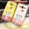 (391-052)เคสมือถือซัมซุง Case Core Prime เคสนิ่มฝาหลังลายแมวน่ารักๆ DOMI CAT