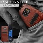 (478-021)เคสมือถือซัมซุง Case Samsung S7 Edge เคสนิ่มทรงสไตล์กระเป๋ายีนส์