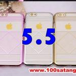 (027-388)เคสมือถือไอโฟน case iphone 6 Plus เคสพลาสติกสไตล์ระบบสุริยะจักรวาล