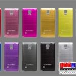 (353-002)เคสมือถือซัมซุงโน๊ต4 Case Note4 ฝาหลังโลหะลายขนแปรง